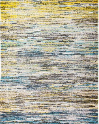 tapis Louis De Poortere LX 8873 Sari Blue Yellow Mix