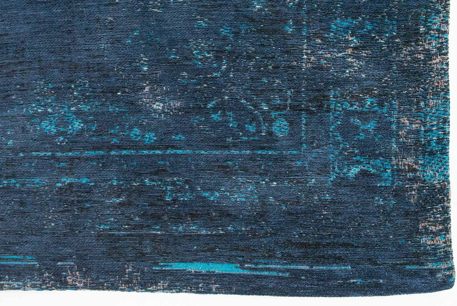 tapis Louis De Poortere LX8254 Fading World Medaillon Blue Night corner