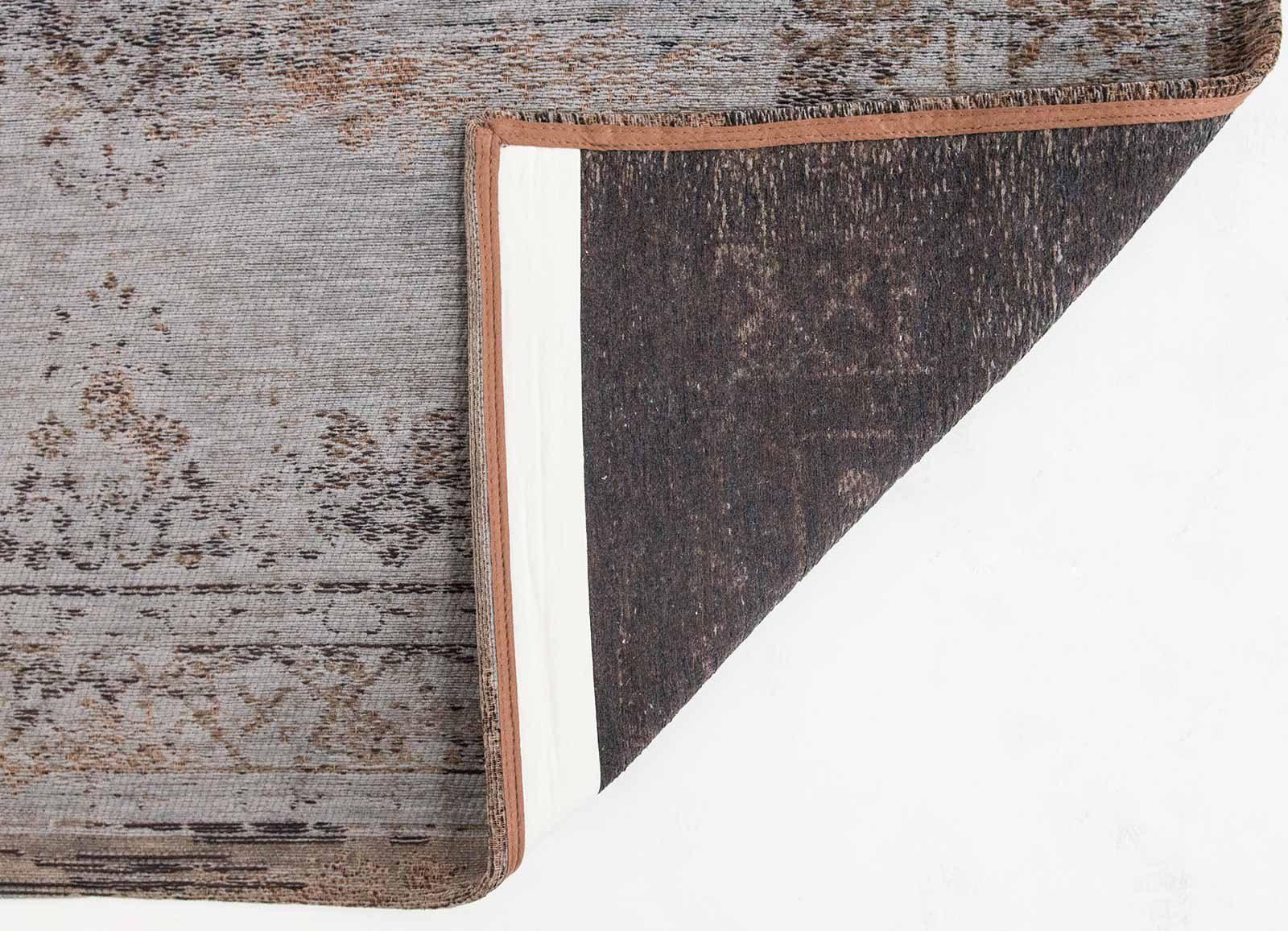 tapis Louis De Poortere LX8257 Fading World Medaillon Grey Ebony back