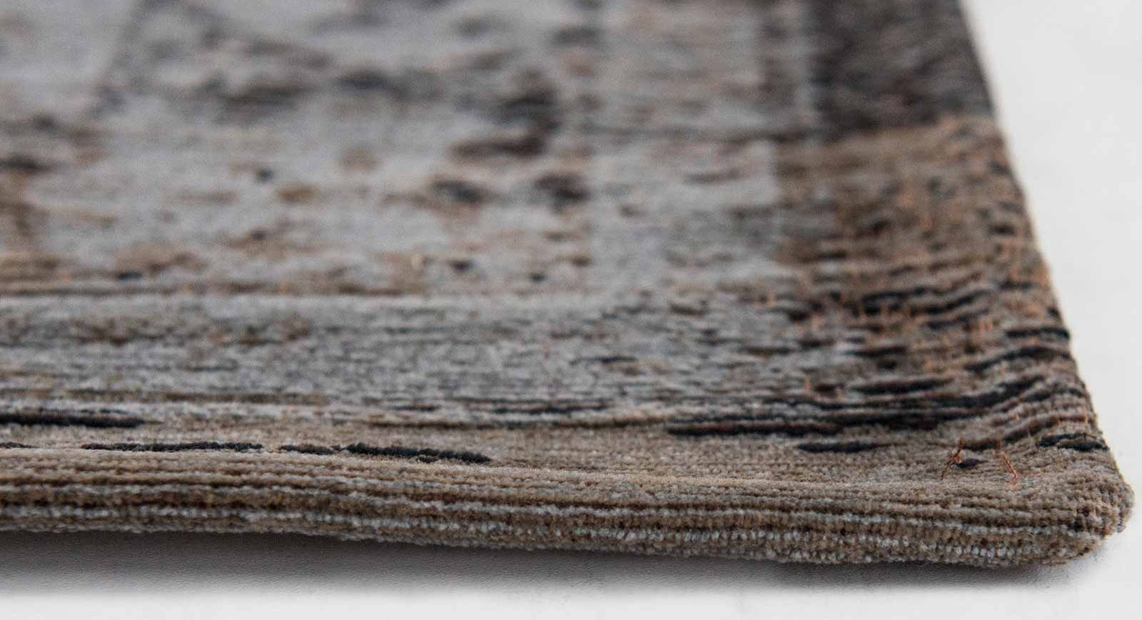 tapis Louis De Poortere LX8257 Fading World Medaillon Grey Ebony side