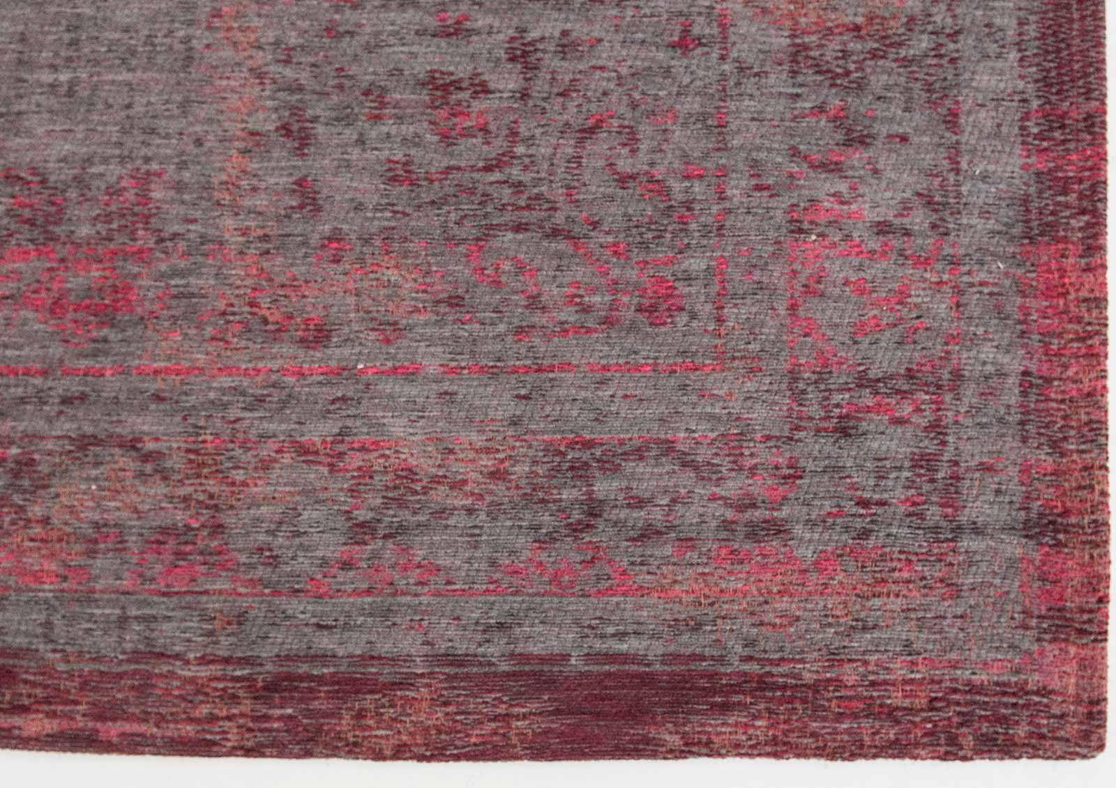 tapis Louis De Poortere LX8261 Fading World Medaillon Pink Flash corner