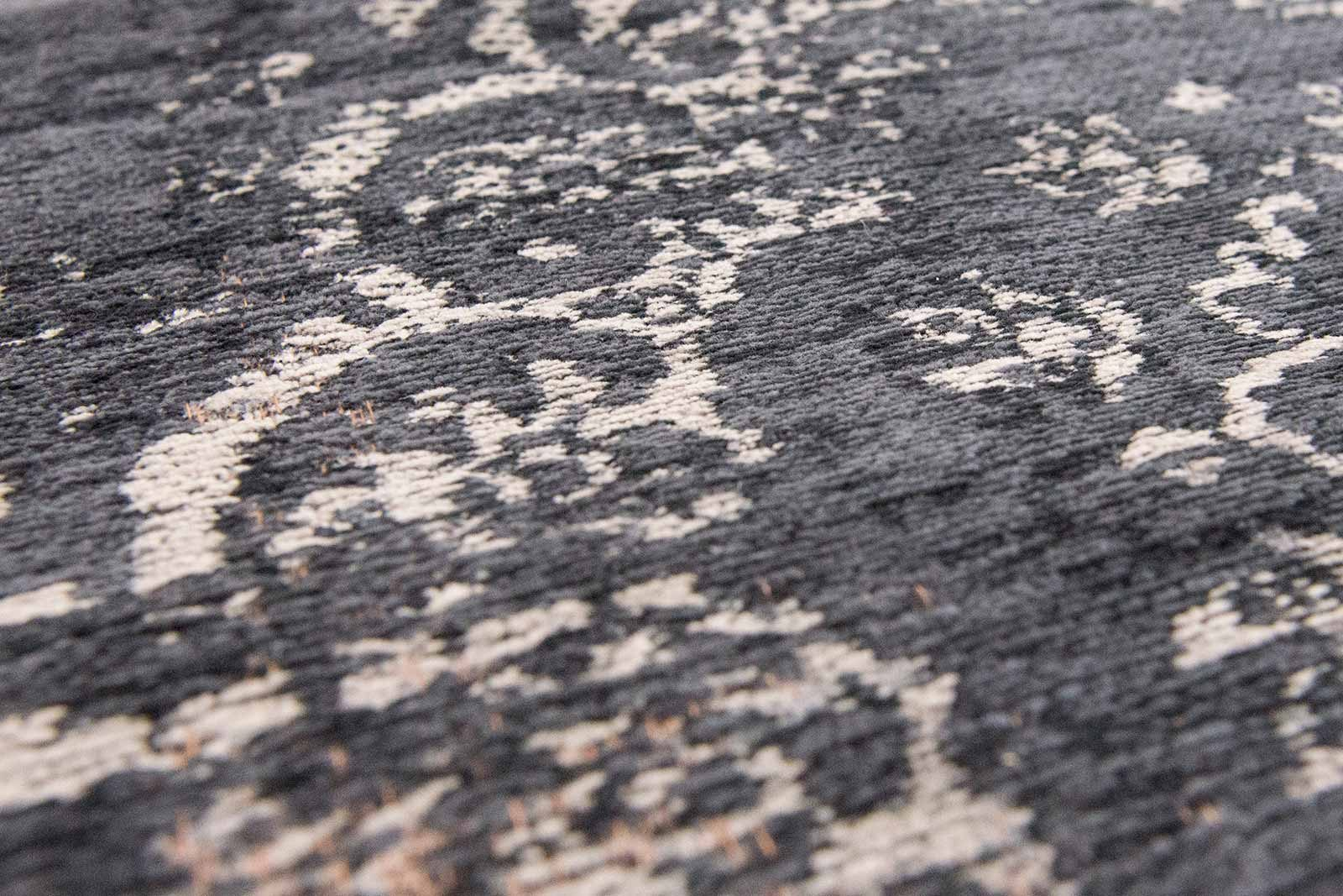 tapis Louis De Poortere LX8263 Fading World Medaillon Mineral Black zoom