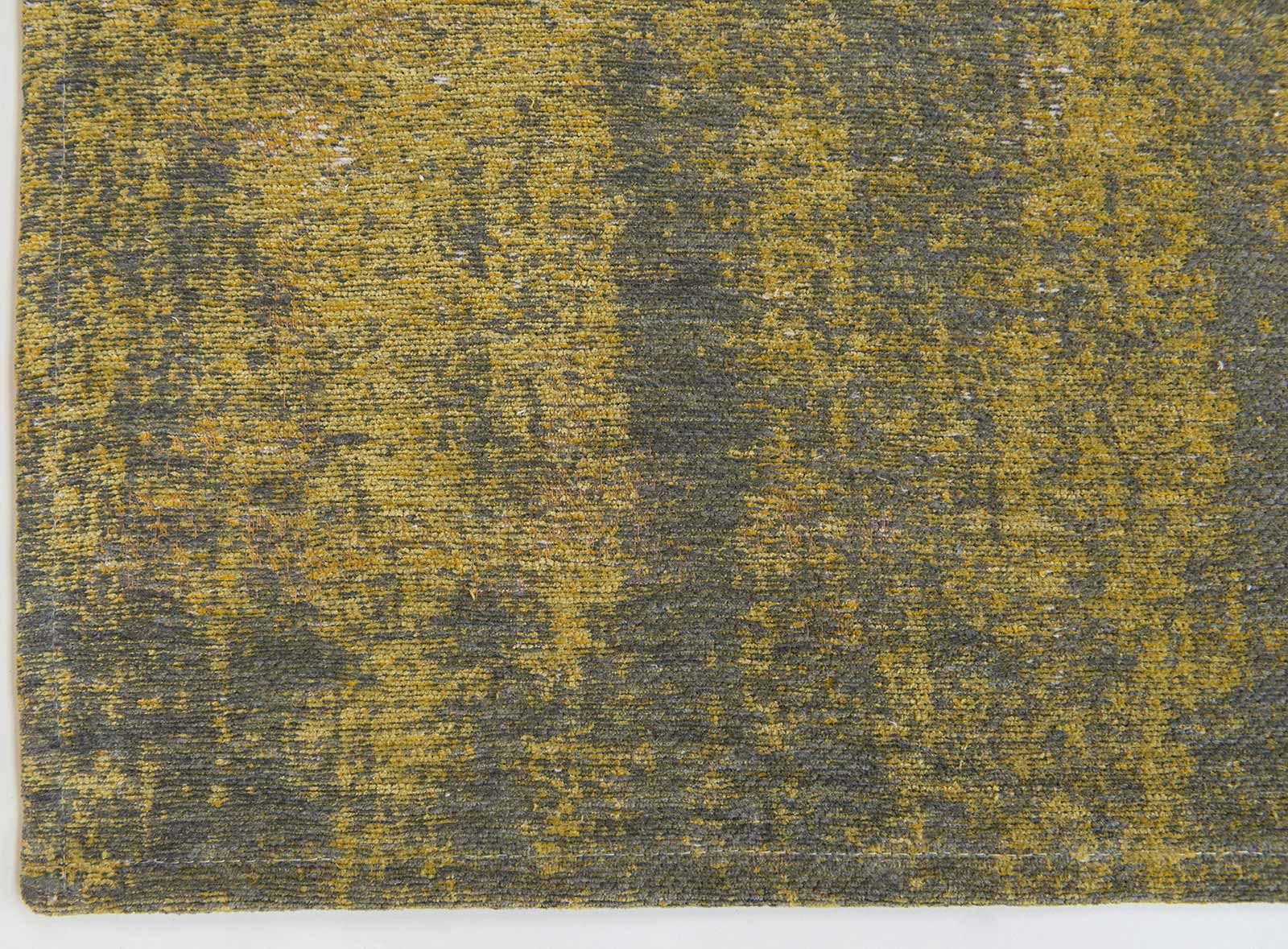 tapis Louis De Poortere LX8638 Fading World Generation Yuzu Cream corner