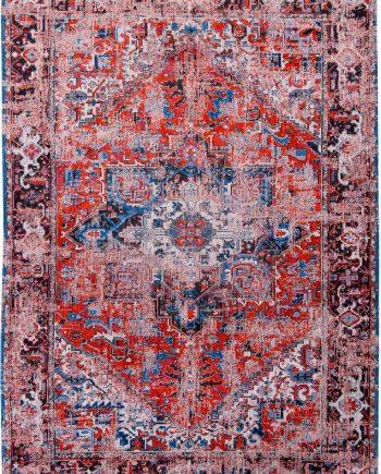 tapis Louis De Poortere LX8703 Antiquarian Antique Heriz Classic Brick