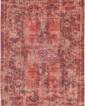 tapis Louis De Poortere LX8719 Antiquarian Antique Hadschlu 782 Red