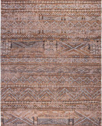 Louis De Poortere tapis CS 9112 Antiquarian Kilim Agdal Brown