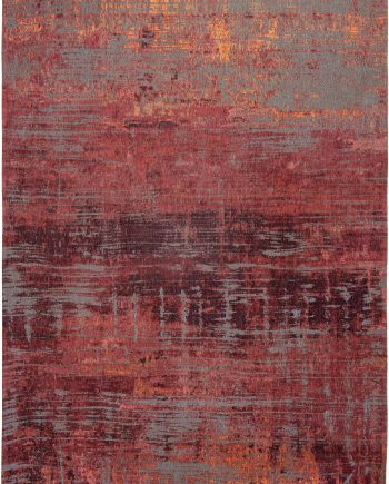 Louis De Poortere tapis CS 9125 Atlantic Streaks Nassau Red