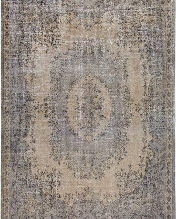 Louis De Poortere tapis CS 9138 Palazzo Da Mosta Colonna Taupe