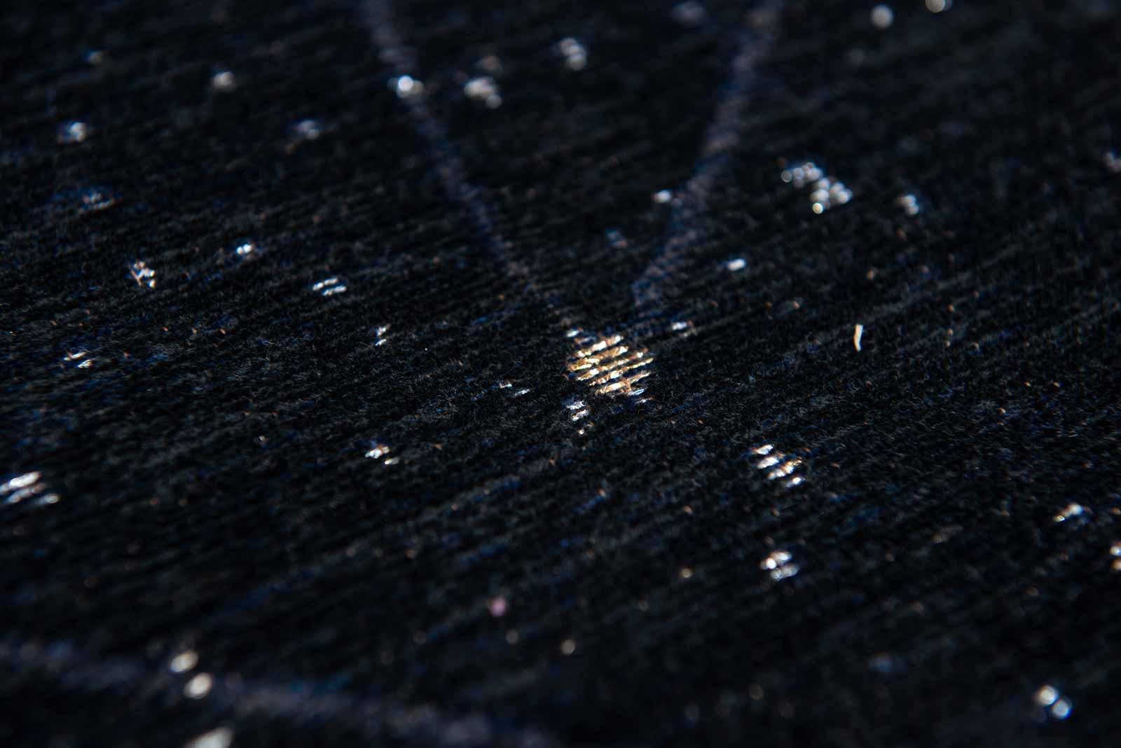 Louis De Poortere tapis Fischbacher 9059 Celestial Night Sky zoom 1