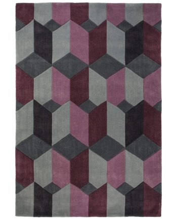 Andessi Tapis Scope Purple Grey 1